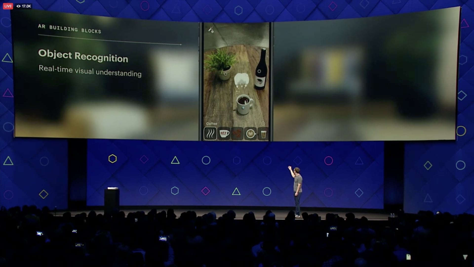 Facebook's Camera Effects Platform - Object Recognition