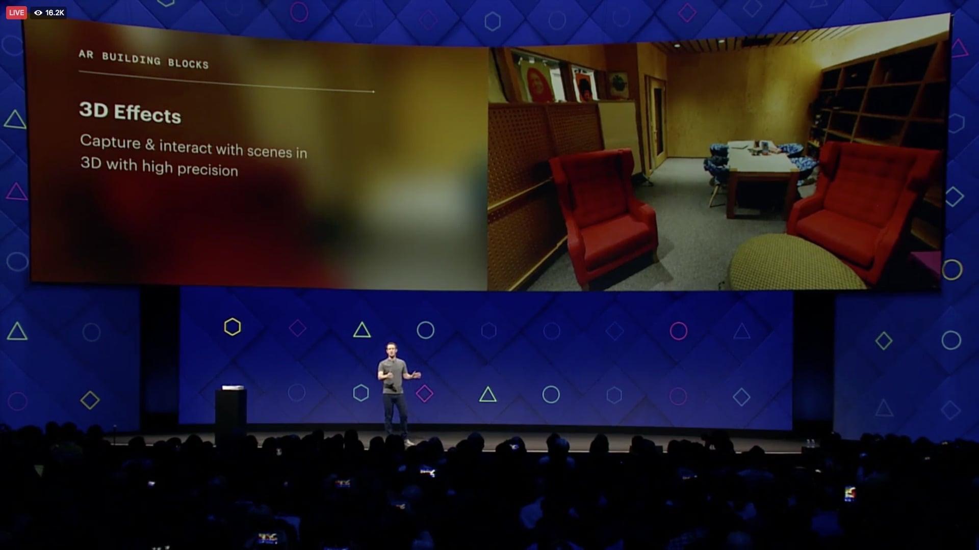 Facebook's Camera Effects Platform - 3D Effects