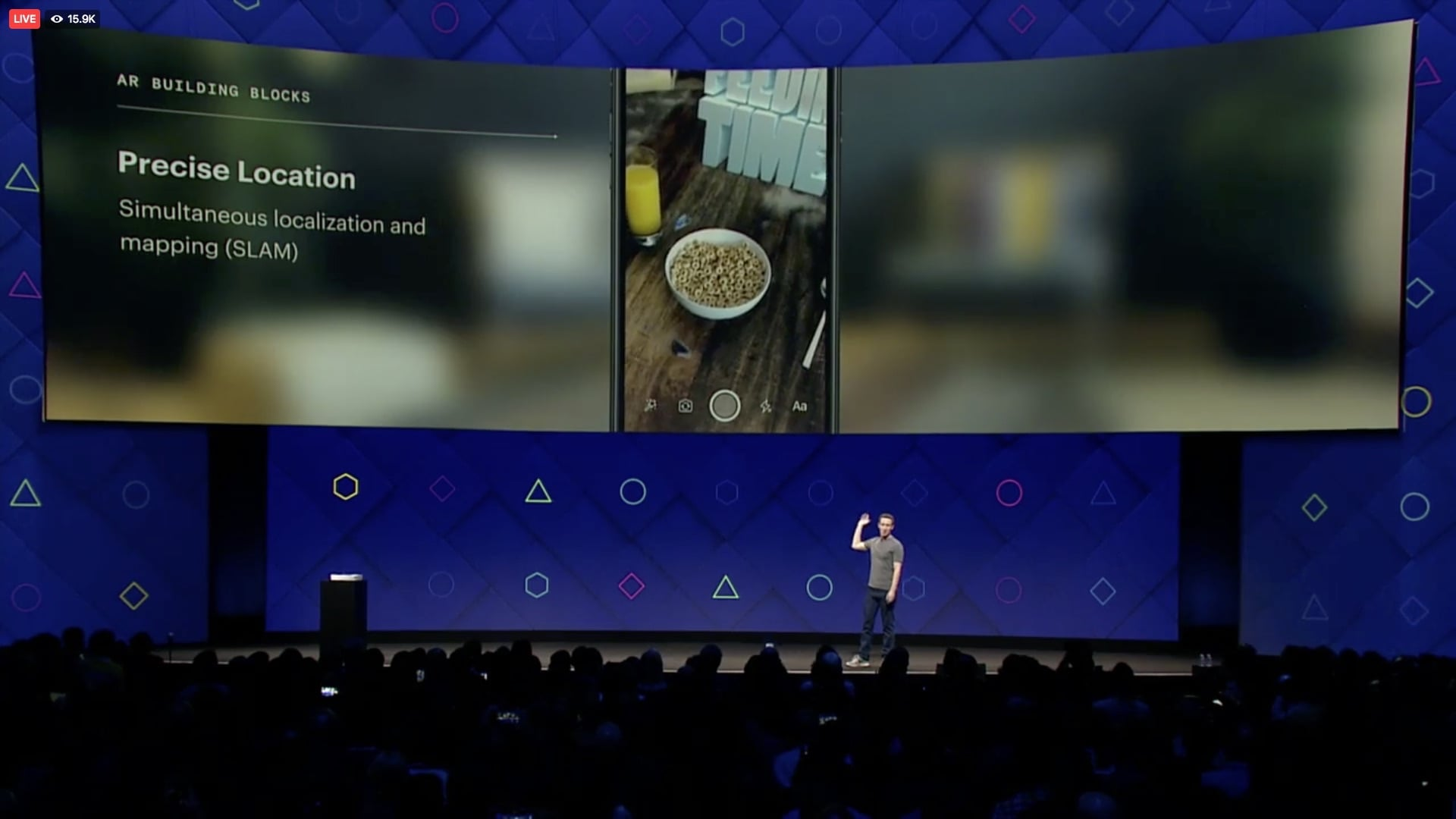 Facebook's Camera Effects Platform - Precise Location
