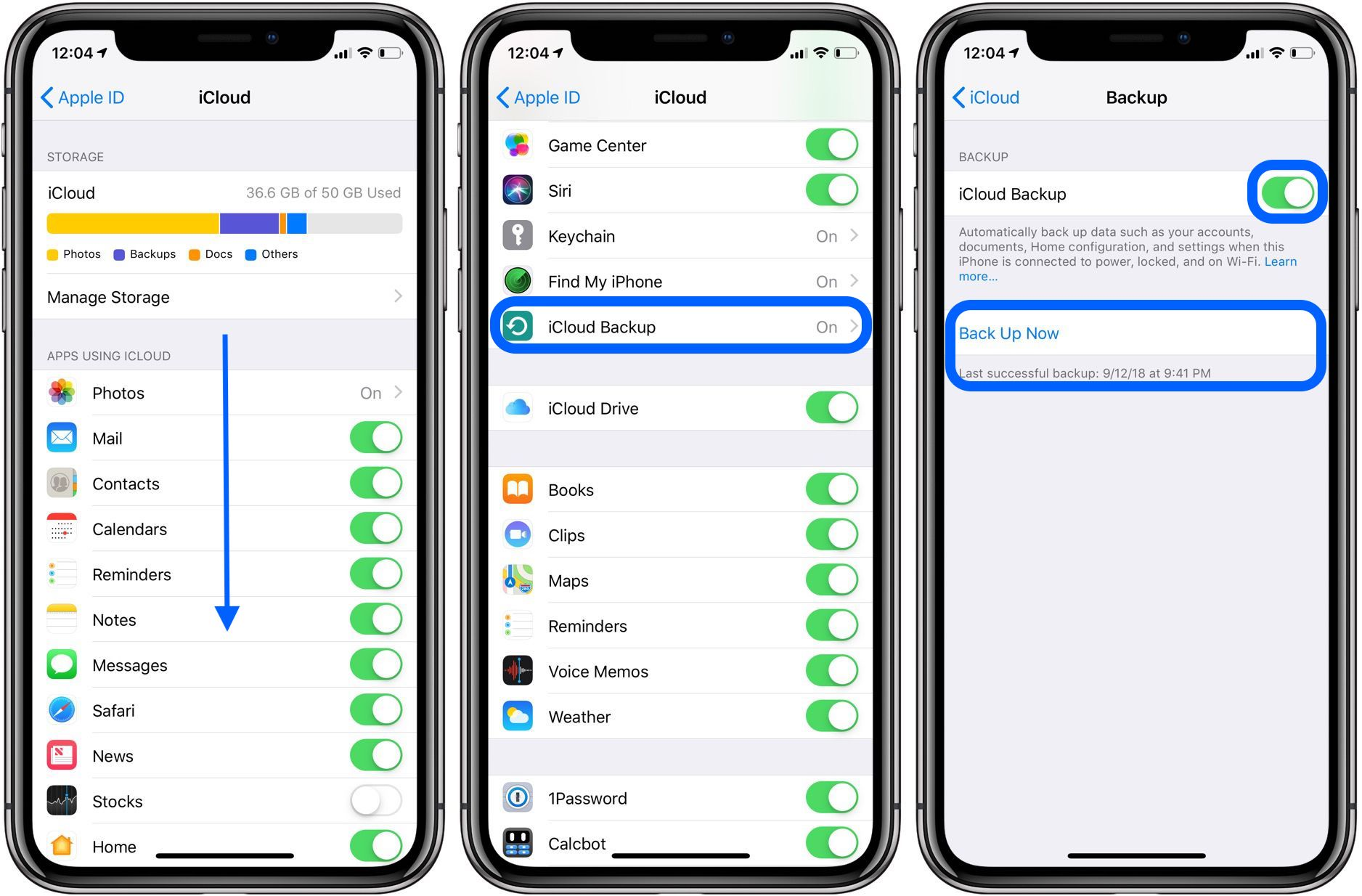 How to move pictures from icloud to iphone x