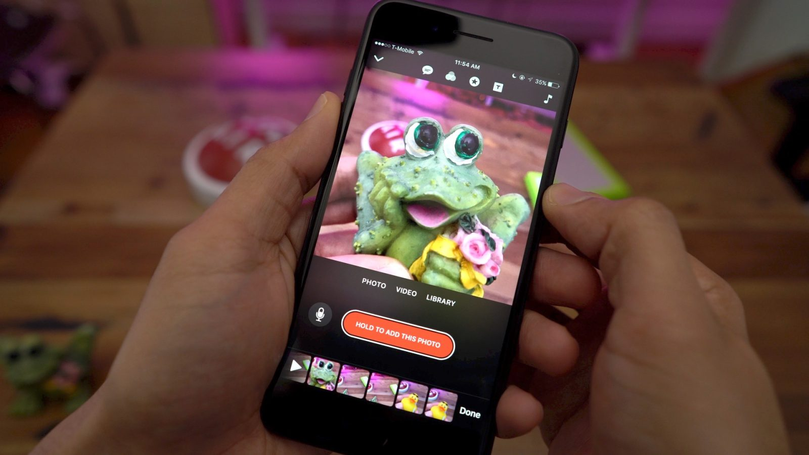 Apple's Clips app upgraded with retro camcorder filter, new stickers