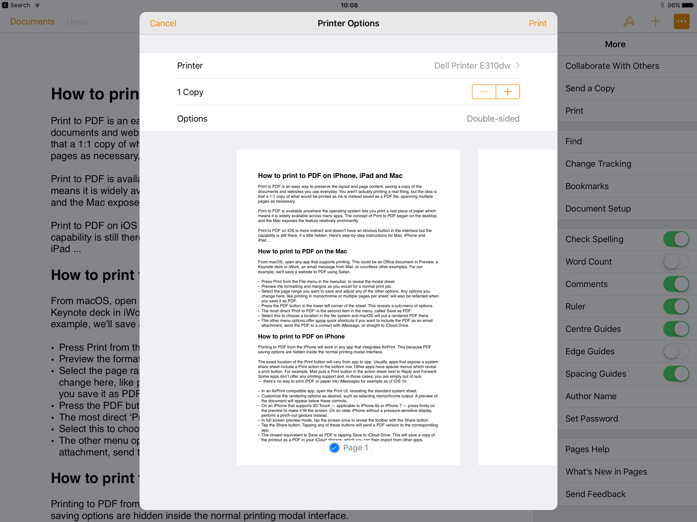 How to print to PDF on iPhone, iPad, and Mac - 9to5Mac