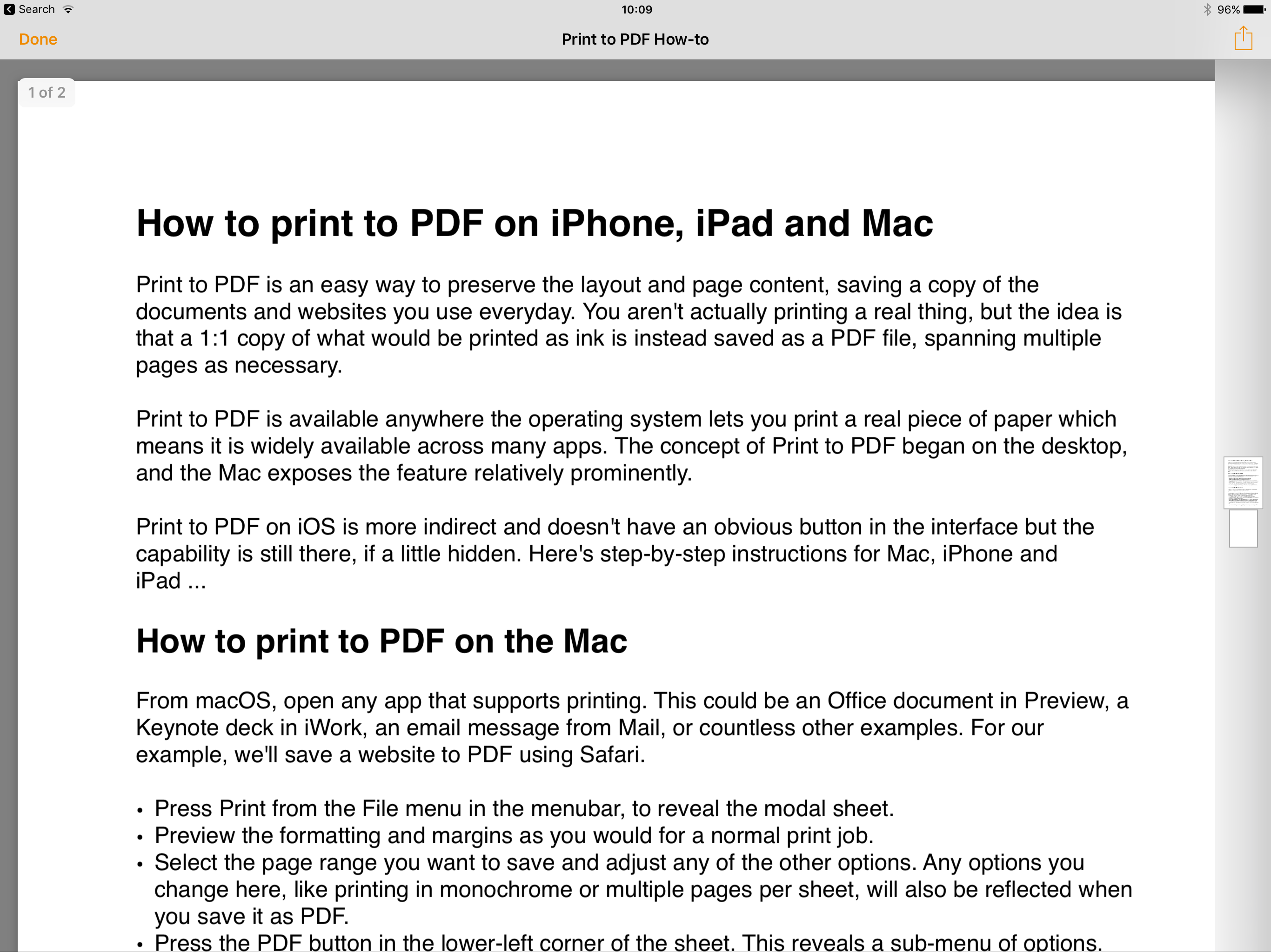 How to print to PDF on iPhone, iPad, and Mac - 9to5Mac
