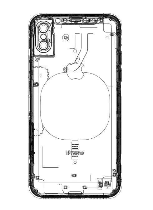 Purported iPhone 8 schematic shows vertical dual-lens