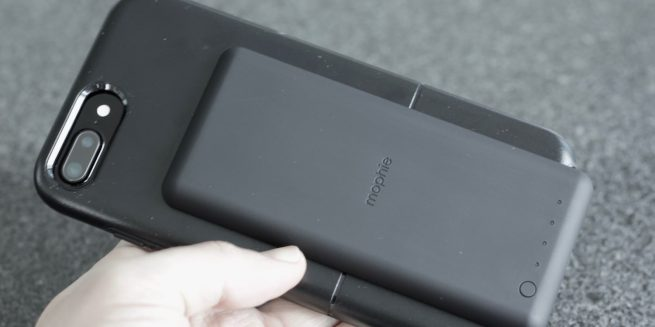 OtterBox uniVERSE Case System with mophie charge force battery