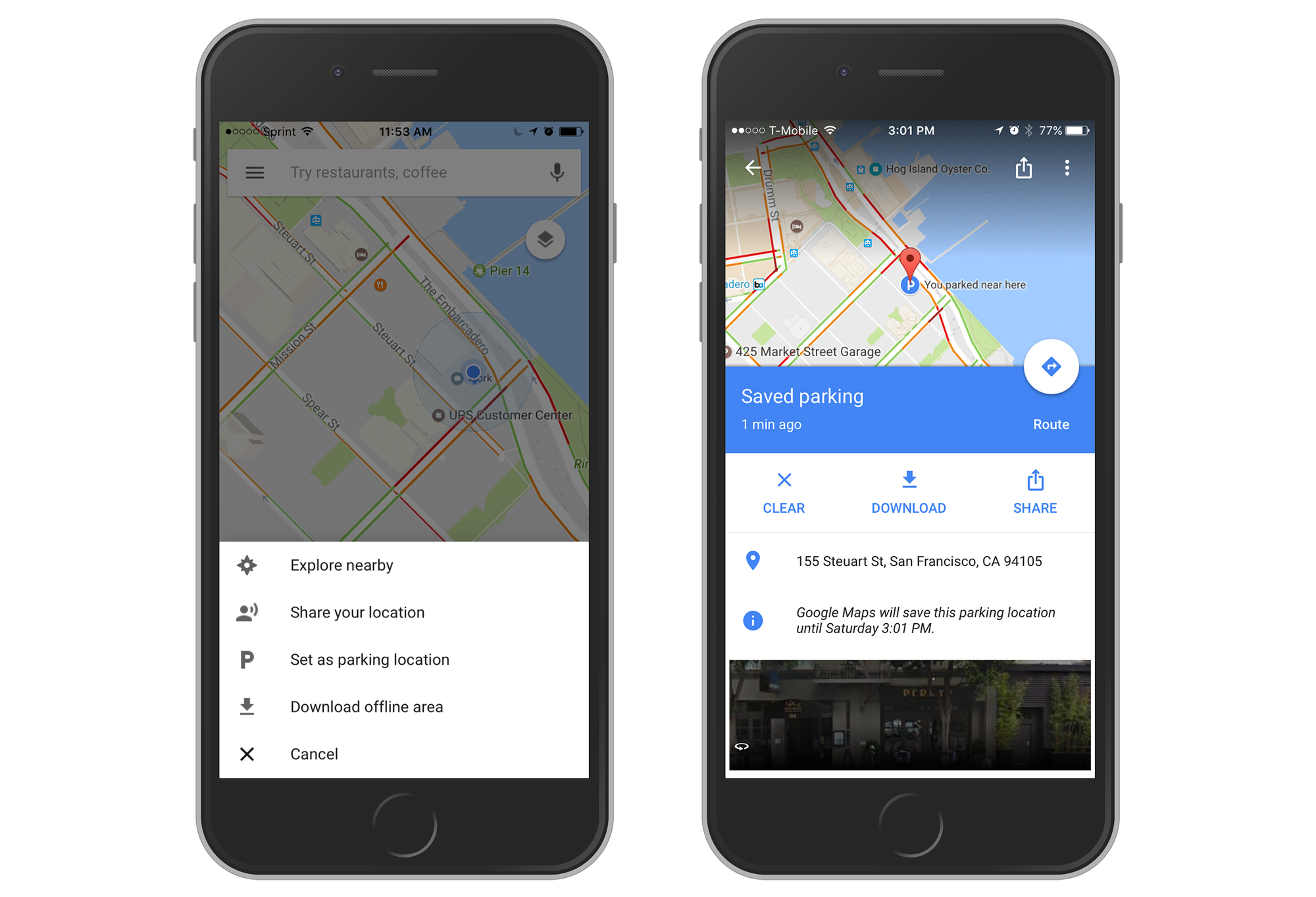 Google Maps for iOS gains useful parking reminder feature - 9to5Mac