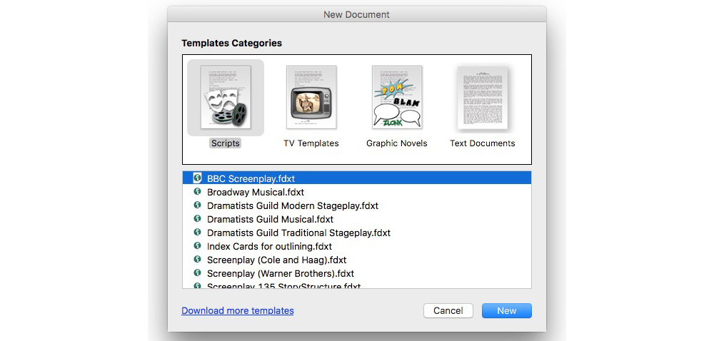 Review: Final Draft 10, the Mac app that aims to make light