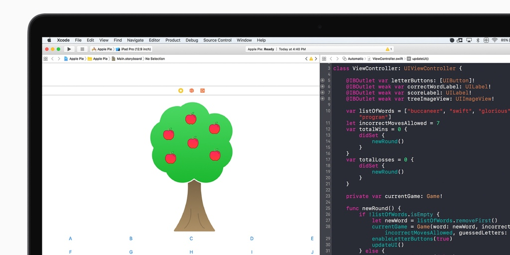 Apple launches new Swift app development curriculum for free on