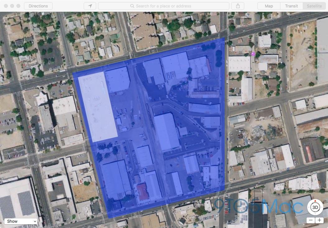 Apple's new half-block of land in Washoe County