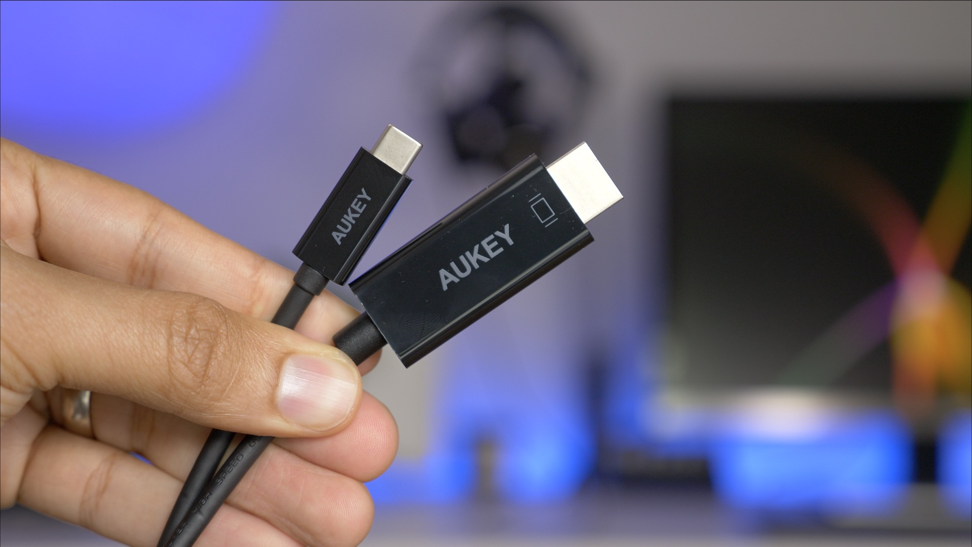 Hands On Aukey S Usb C To Hdmi Cable Can Easily Connect