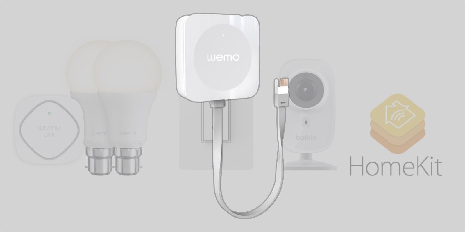 Belkin Wemo Smart Home Accessories To Add Homekit Support