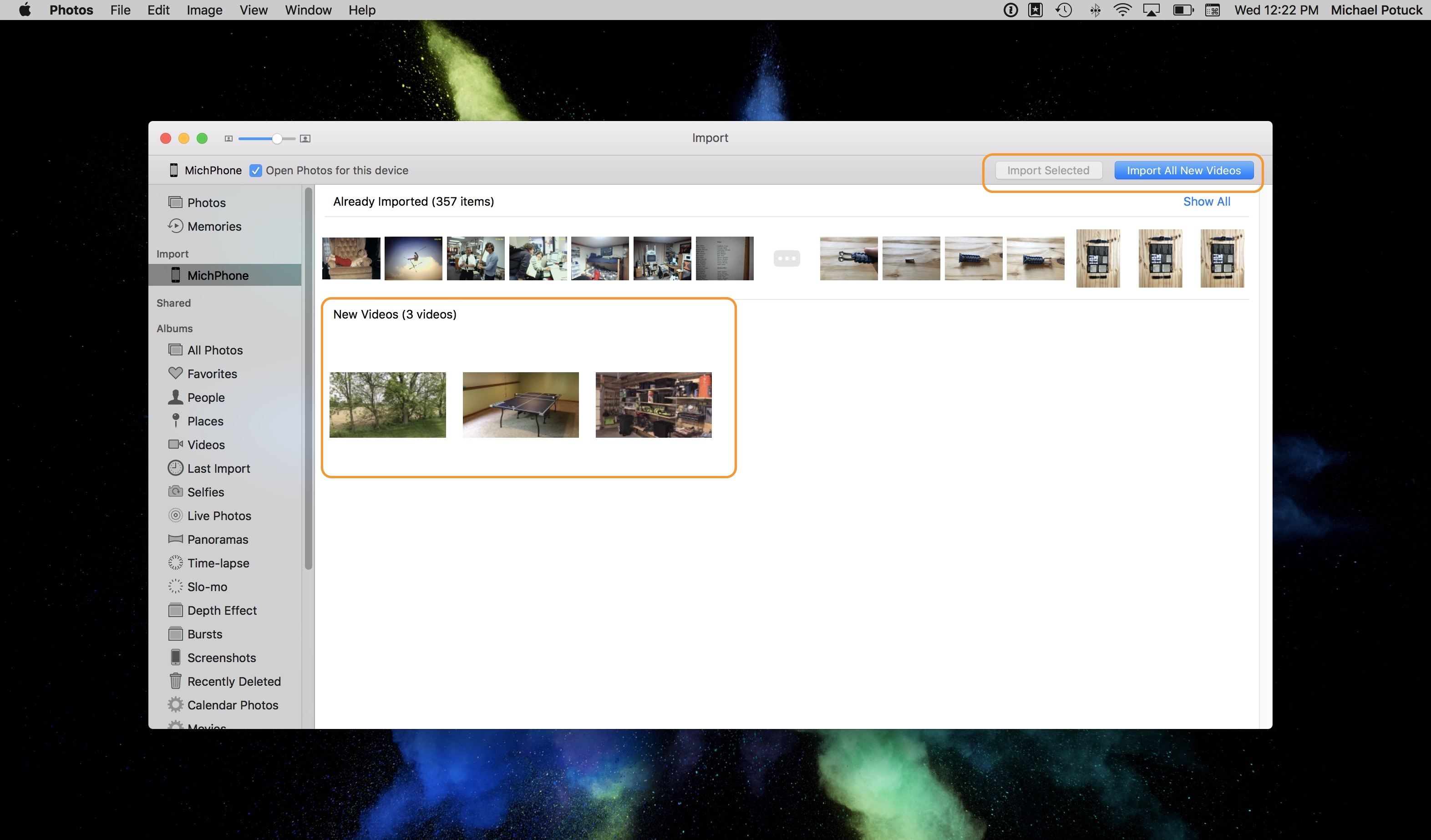 how to import videos from iphone to mac 9to5mac