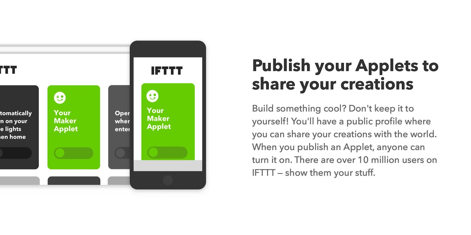 IFTTT launches Maker tier with support for multiple Applet actions