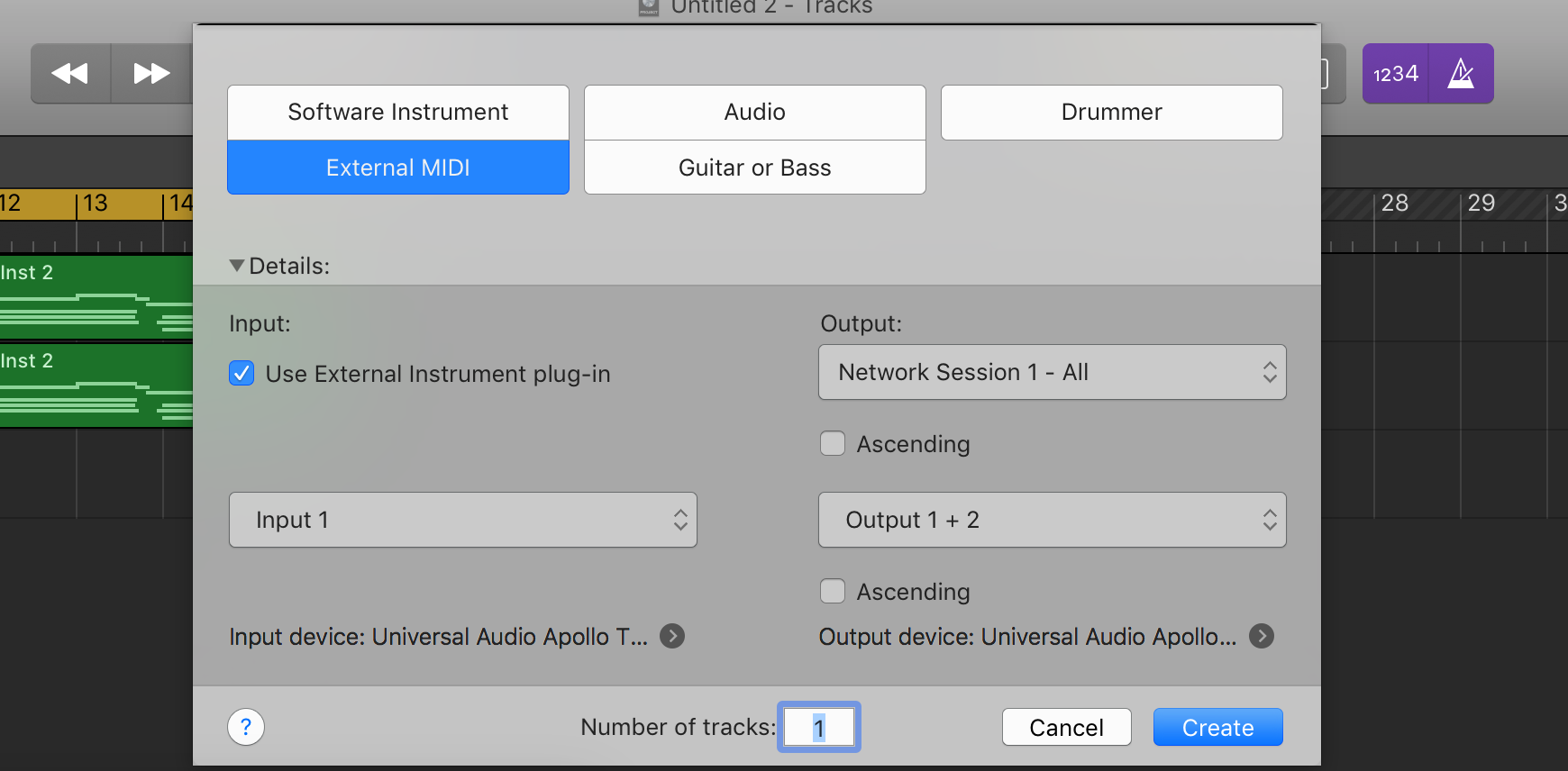 Logic Pros: How to send MIDI from Logic Pro X to iOS synths
