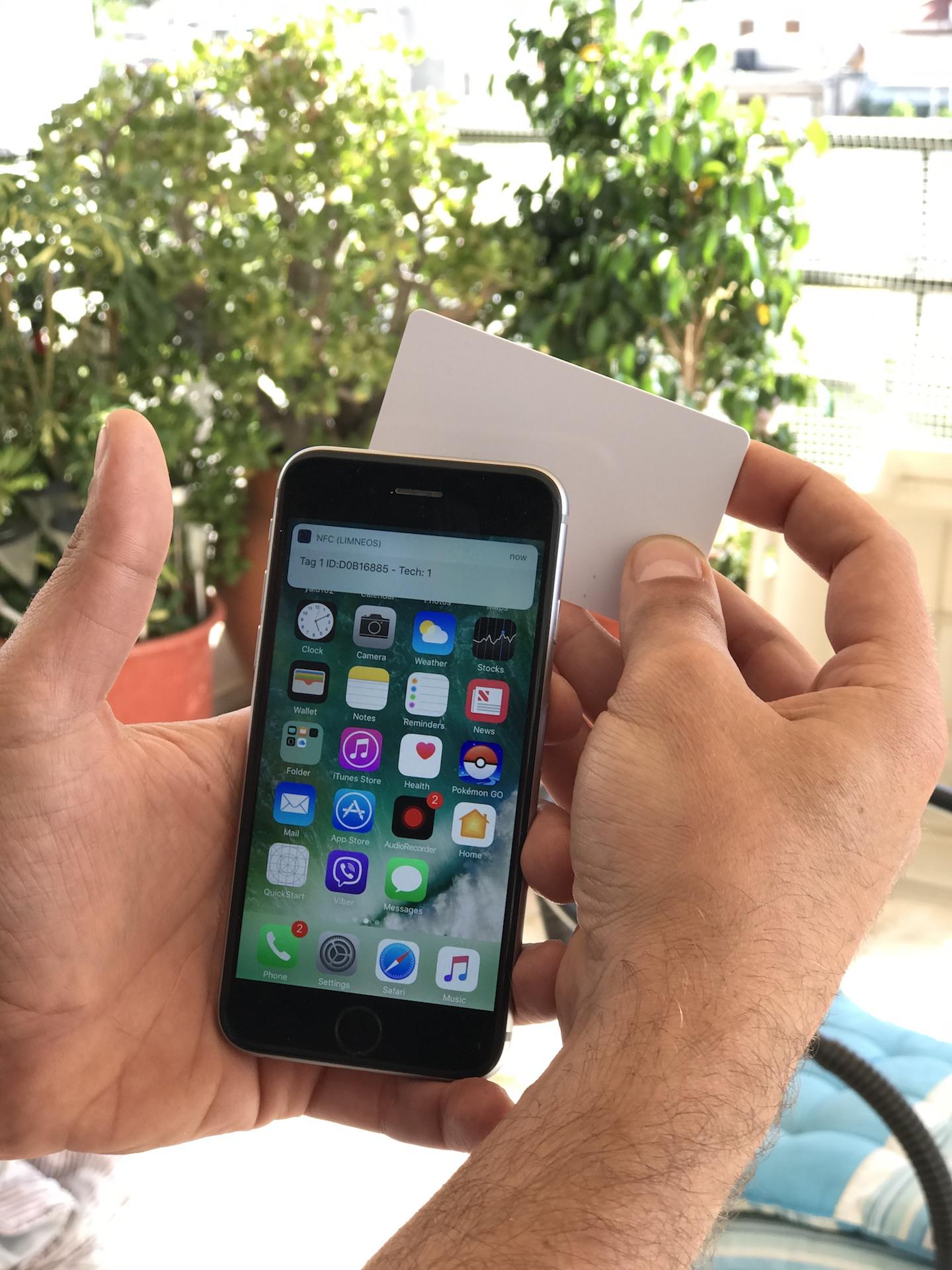 Jailbreak developer hacks NFC on iPhone 6s to talk to NFC