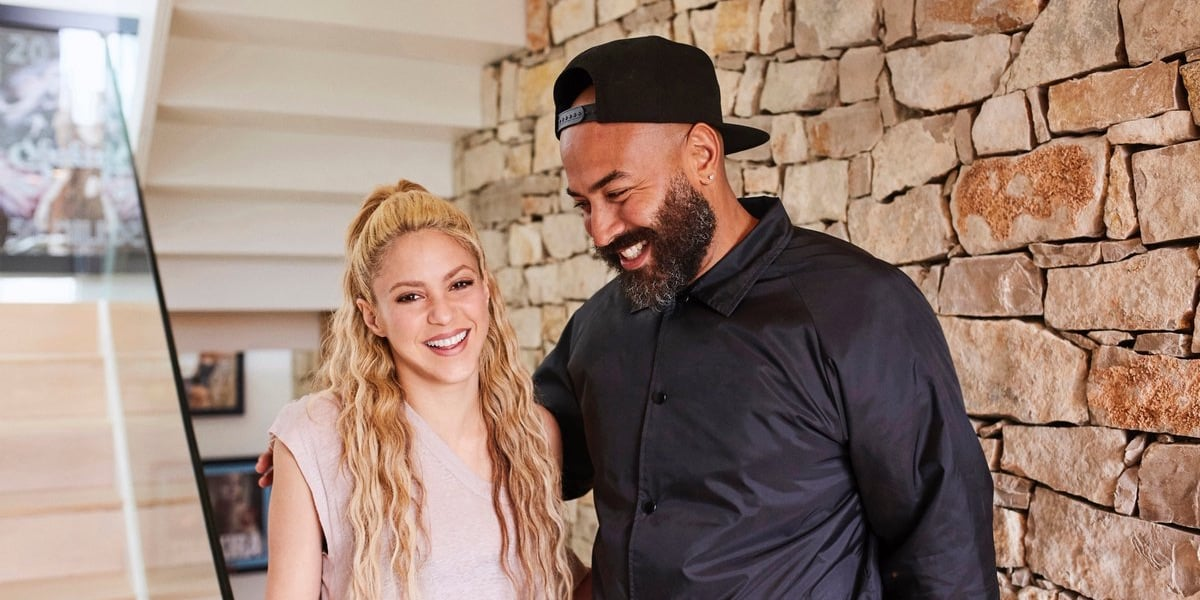 Shakira and Ebro from Beats 1