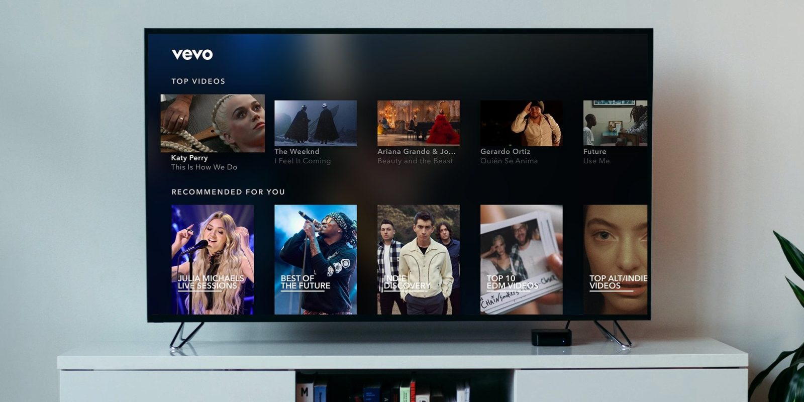 Vevo music platform axing iOS and Apple TV apps, shifting to