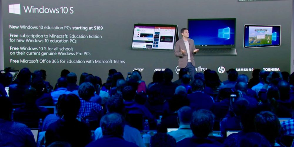 Microsoft introduces Windows 10 S for classrooms and a new 'Surface