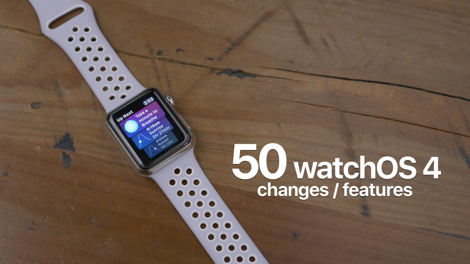 What's new in watchOS 4? Hands-on with 50+ features and changes [Video]