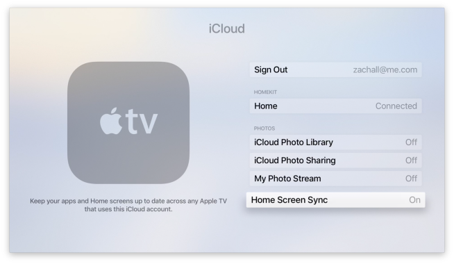 how to change over the air sync settings on iphone how to enable home screen sync on apple tv 9to5mac 8275