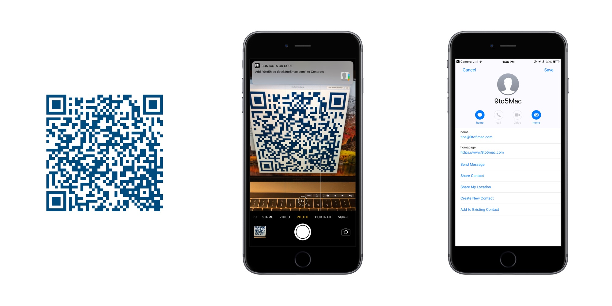 Top 10 Qr Codes Supported By Ios 11 9to5mac