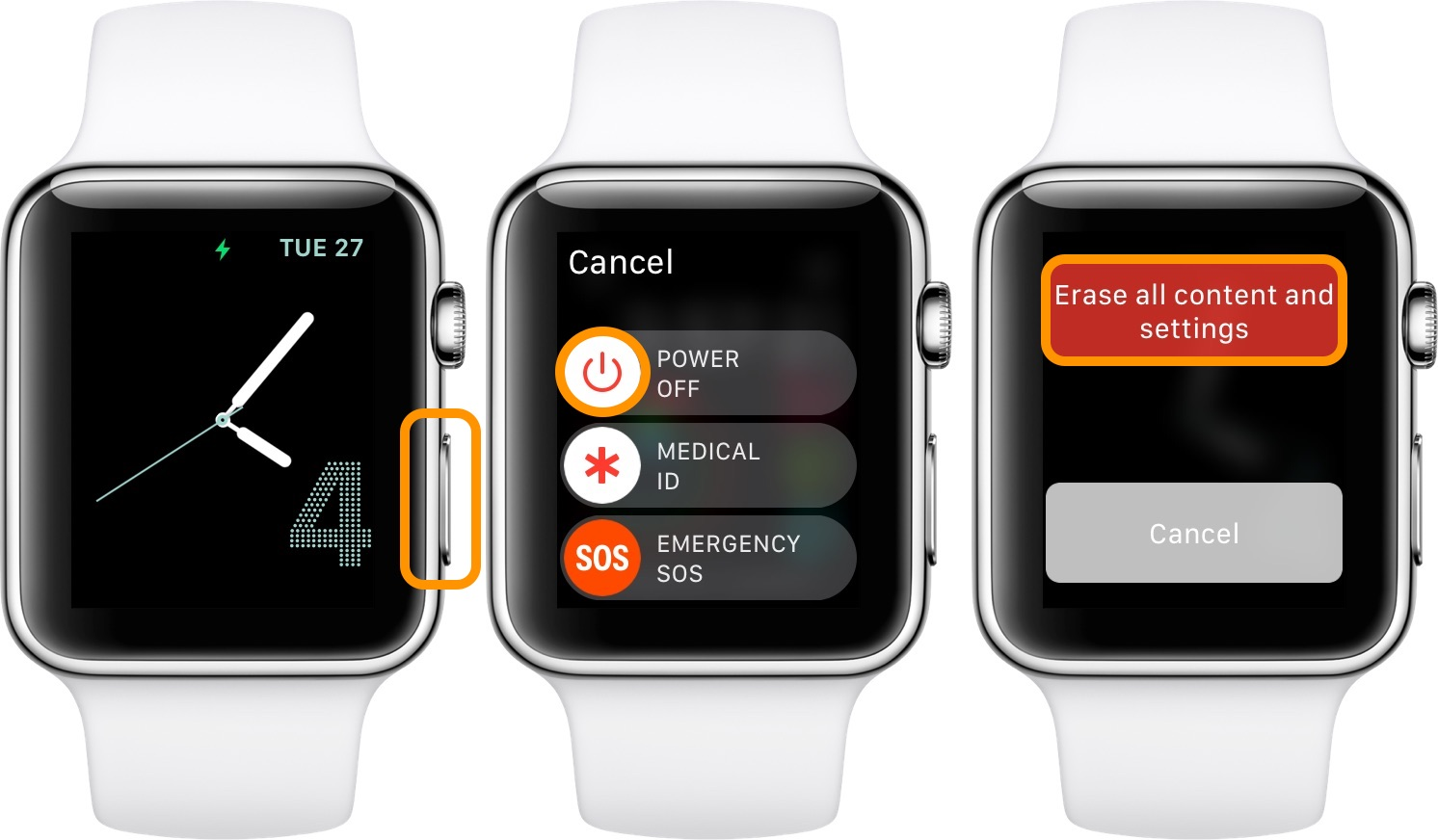 How to factory reset Apple Watch walkthrough 3
