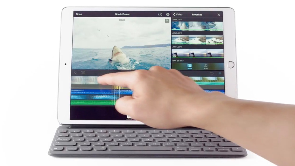 Apple highlights A10X Fusion power, 'no lag' with Pencil in