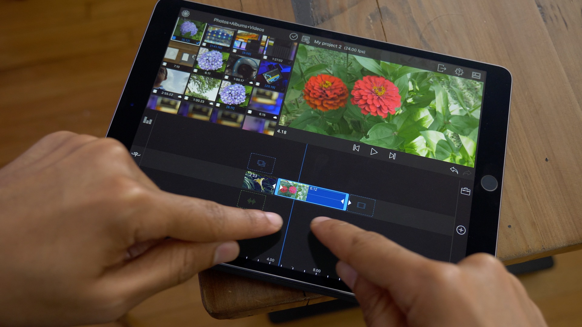 free video editing app for ipad mini