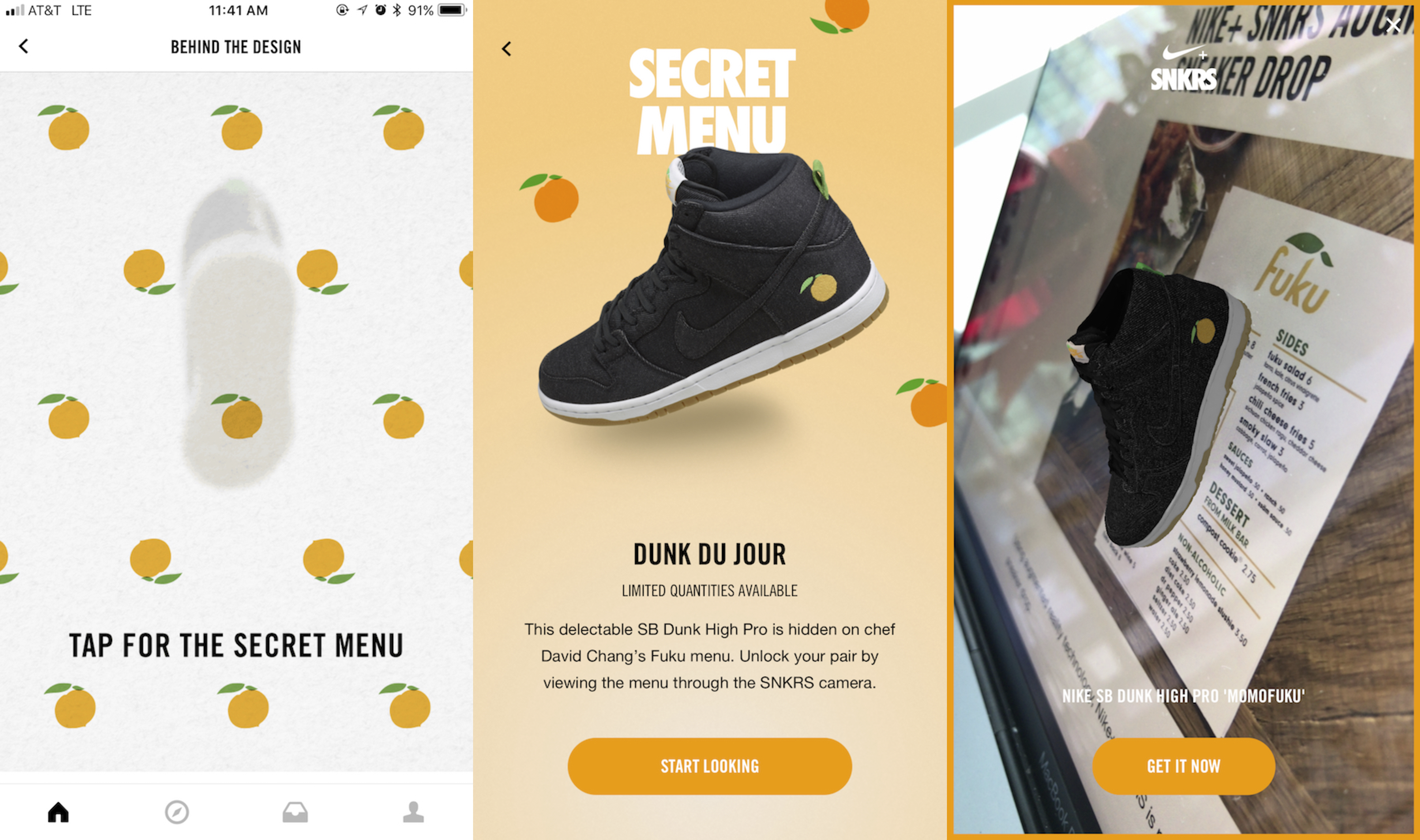 091653f302470 Nike SNKRS iOS app adds AR features to make exclusive sneaker ...