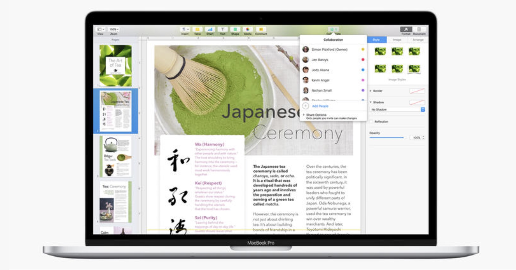 Apple Updates IWork Apps For Mac With New Shape Library, Auto-correction Features & More