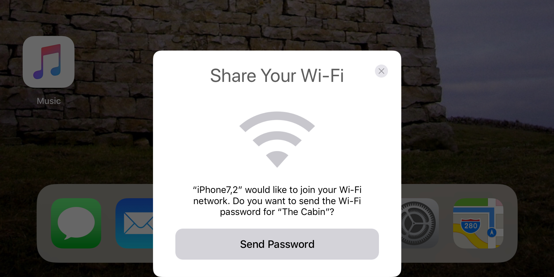 9to5mac.com - Benjamin Mayo - Easily share your WiFi with friends on iOS 11, automatically sends passwords to nearby devices