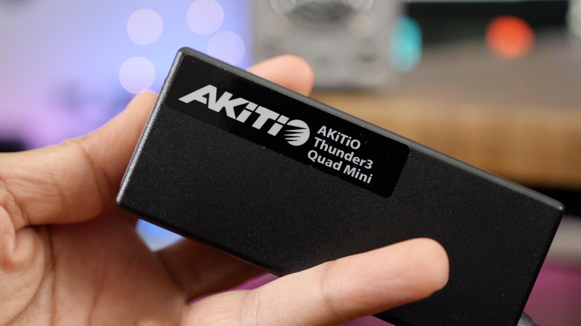 Akitio Thunder3 Quad Mini Power Adapter