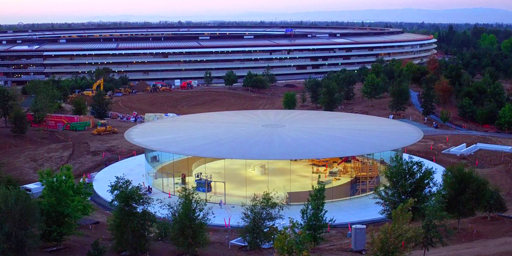 A look inside the underground steve jobs theater ahead of apples a look inside the underground steve jobs theater ahead of apples iphone 8 event malvernweather Image collections