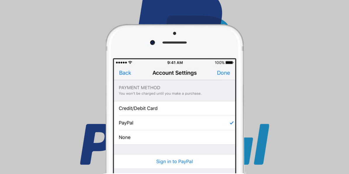 Apple adds PayPal as payment option for the App Store