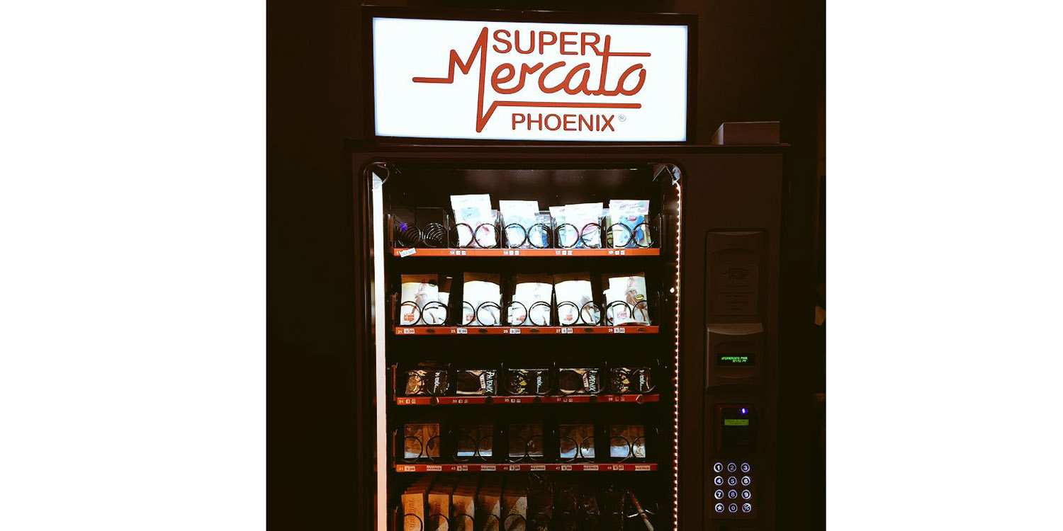 Now You Can Buy Concert Merchandise From A Vending Machine Using