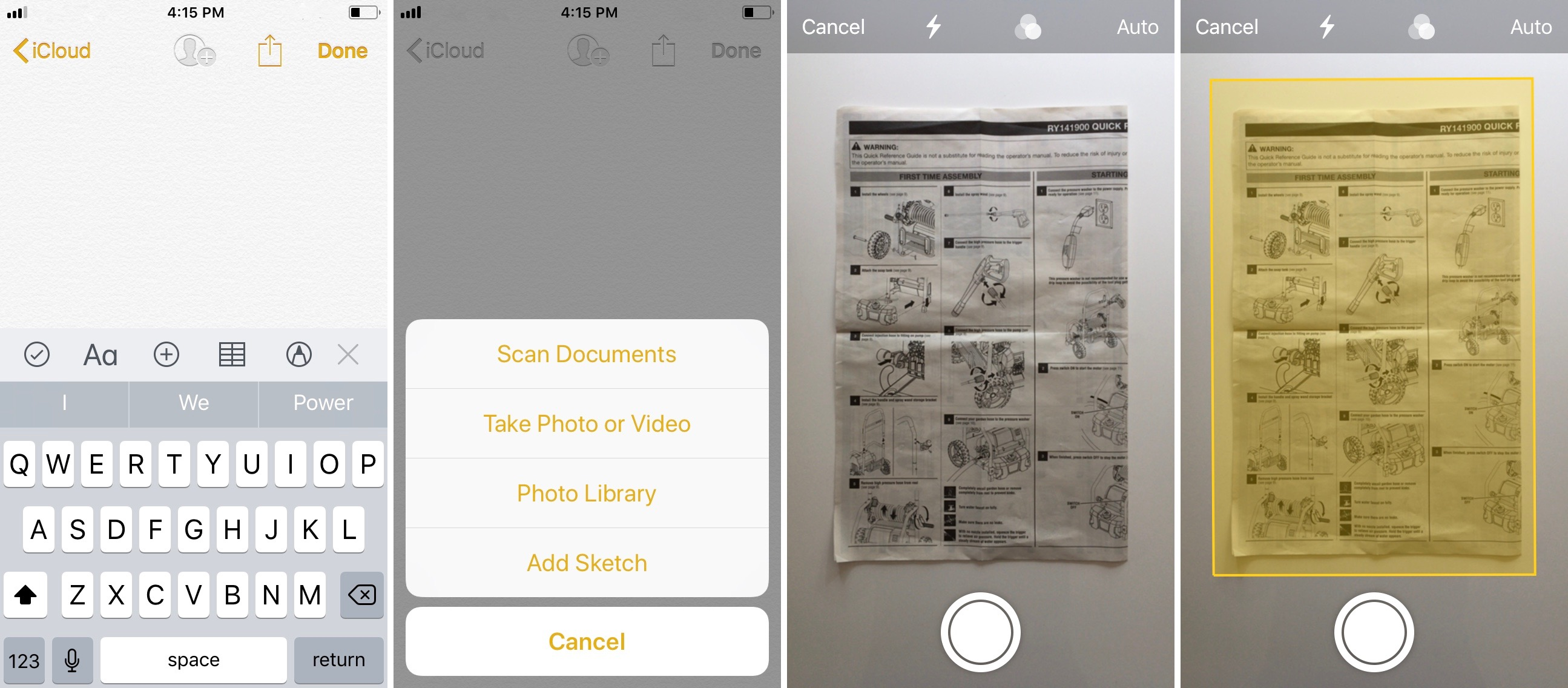 How to Scan Documents with an iPhone