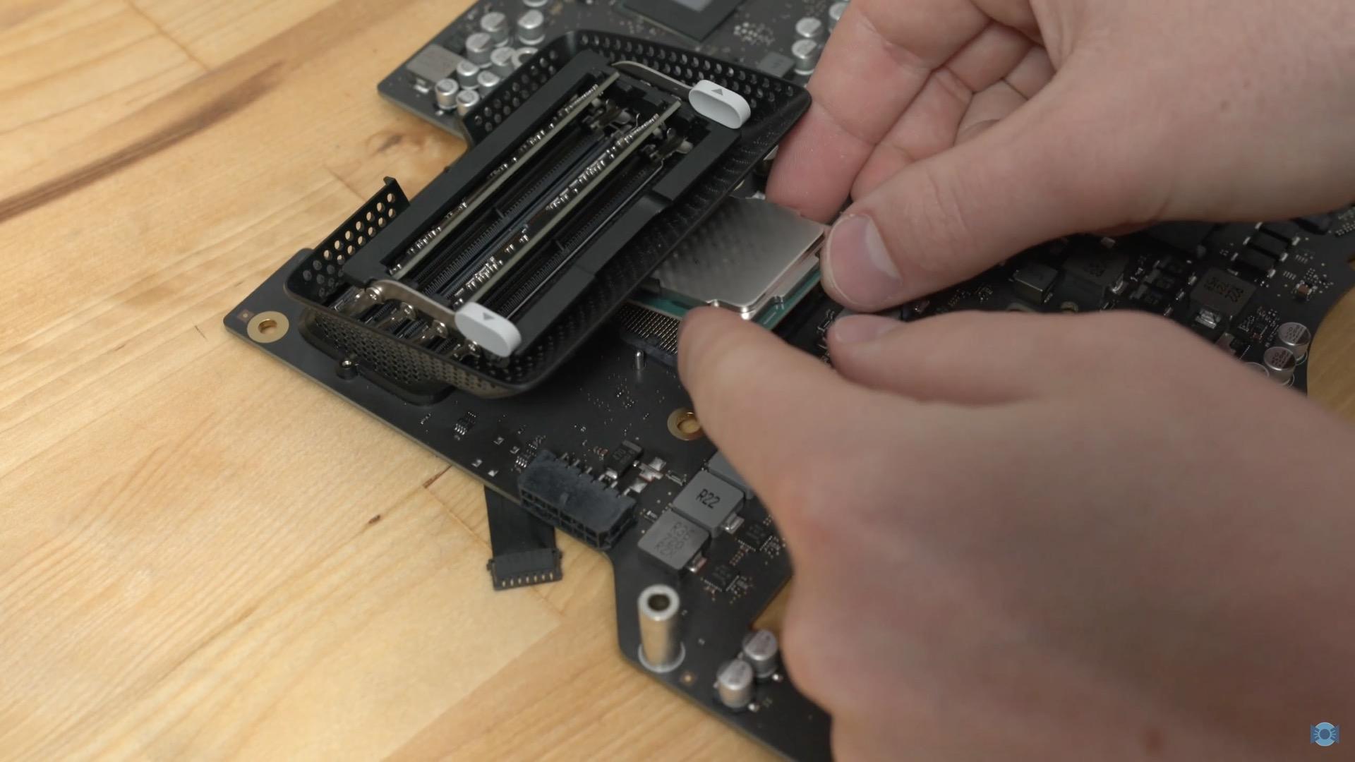 YouTuber upgrades base-model 5K iMac with seventh-gen Intel