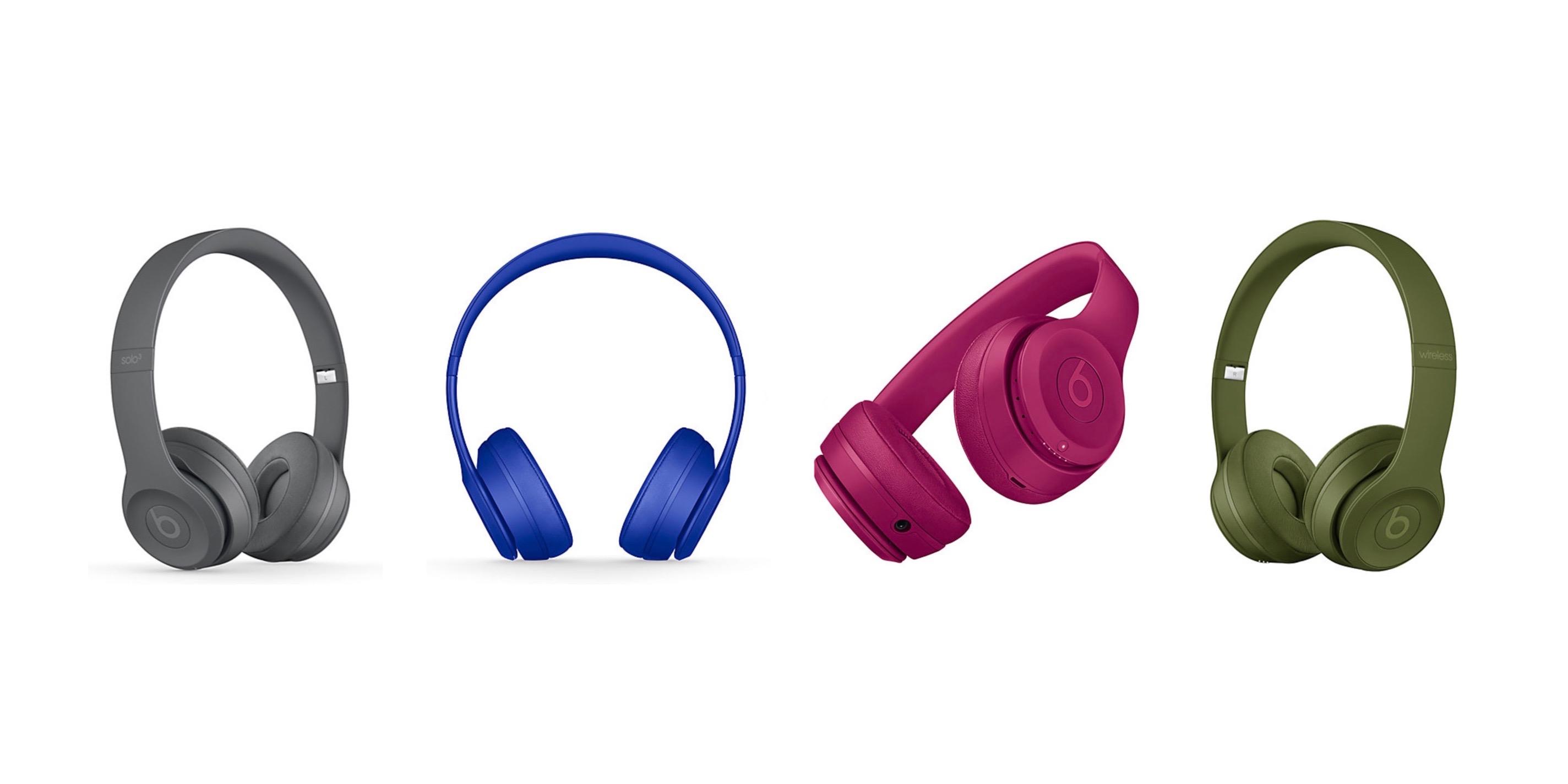 Apple Releases Fresh Colors For Beats Solo3 Wireless Headphones U 9to5mac