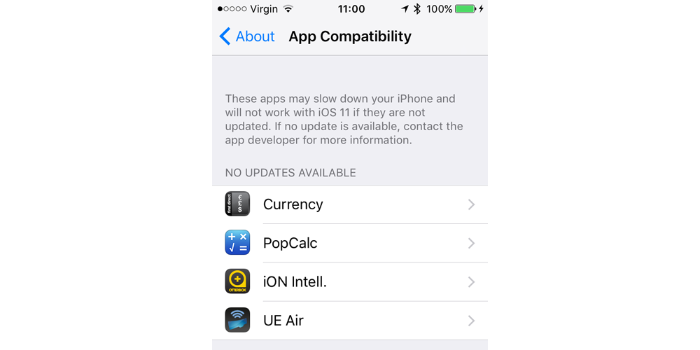 Psa Now S A Good Time To Check Which Of Your Apps Won T Open In Ios 11 As 32 Bit Support Dropped 9to5mac