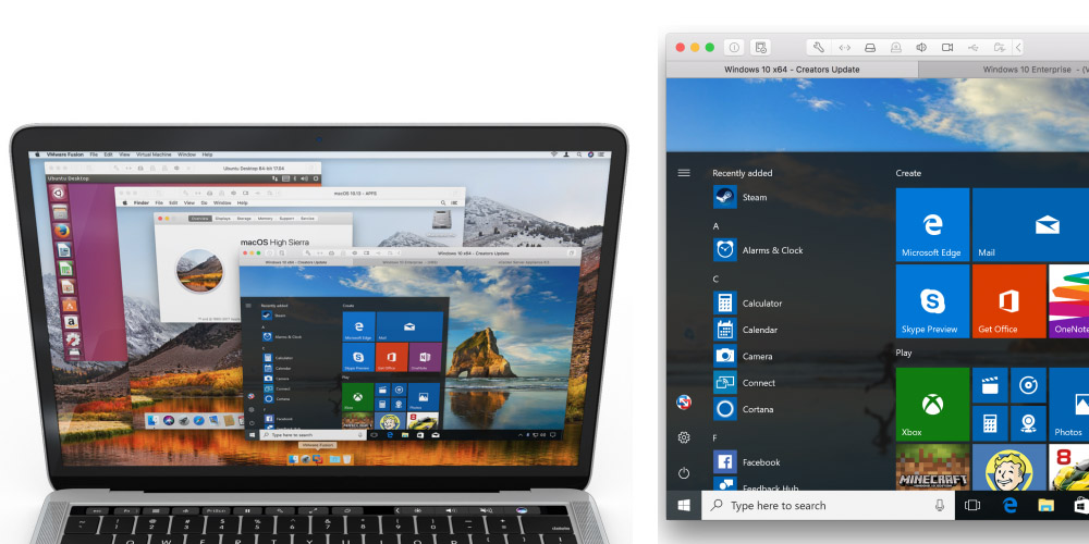 VMware announces Fusion 10 with enhanced GPU & 3D graphics