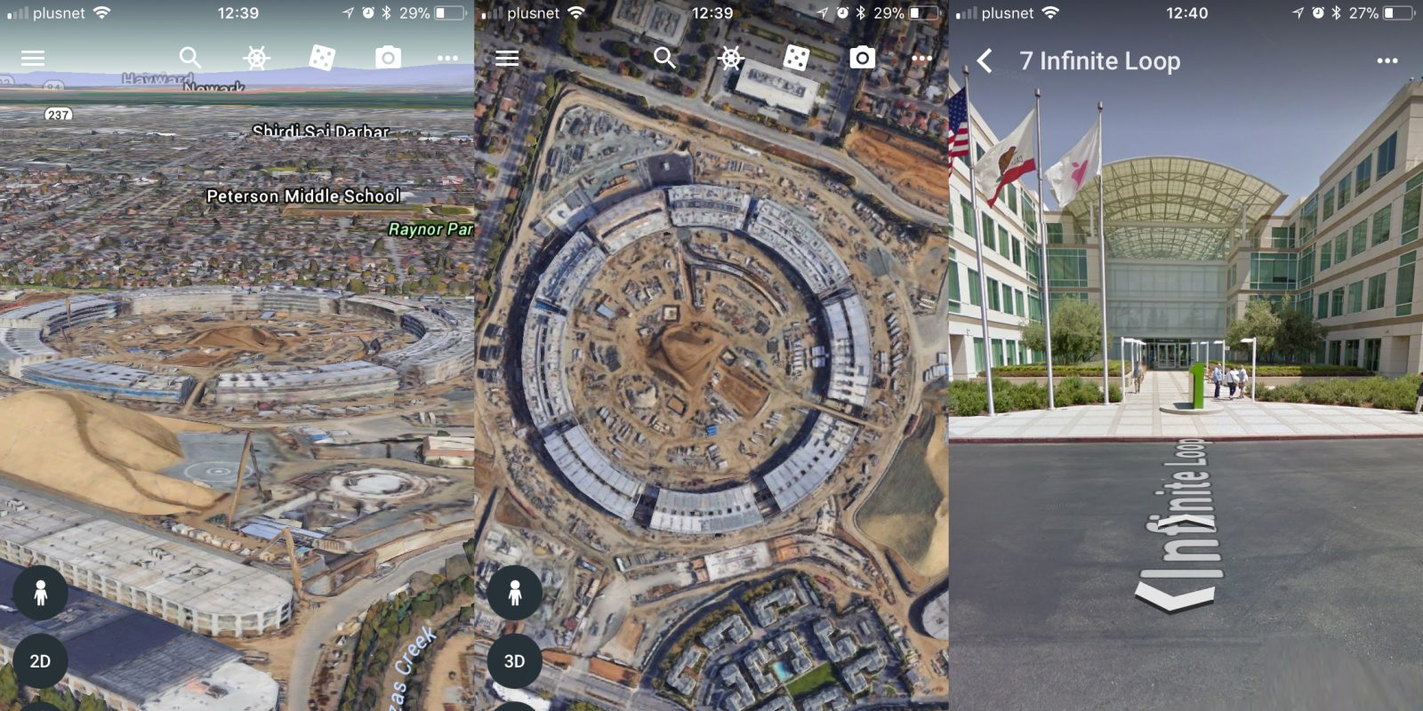 google earth app update adds 64 bit support in time for ios 11 cutoff new 3d views