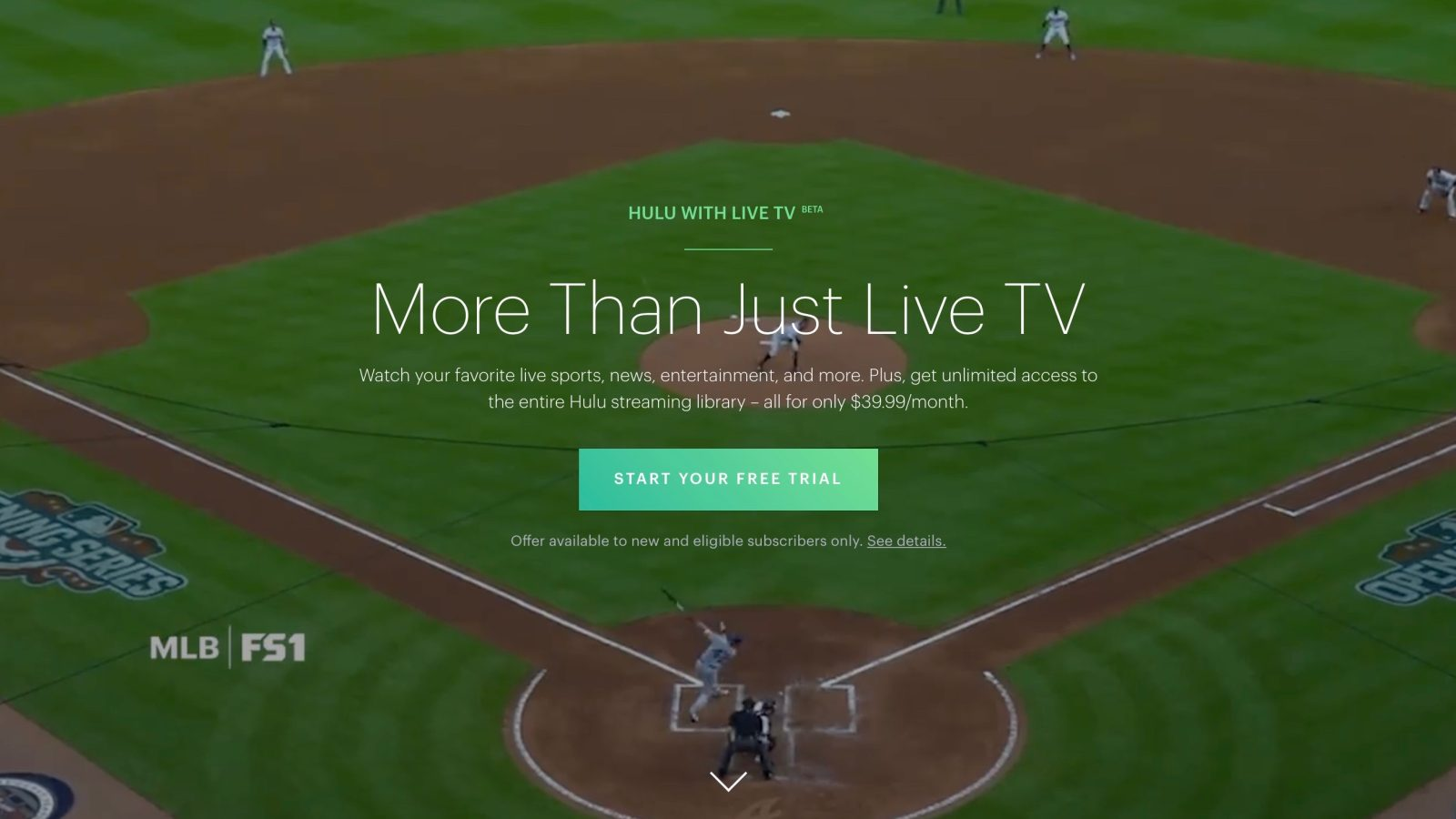 Hulu Live TV adds The CW live channel in addition to previously