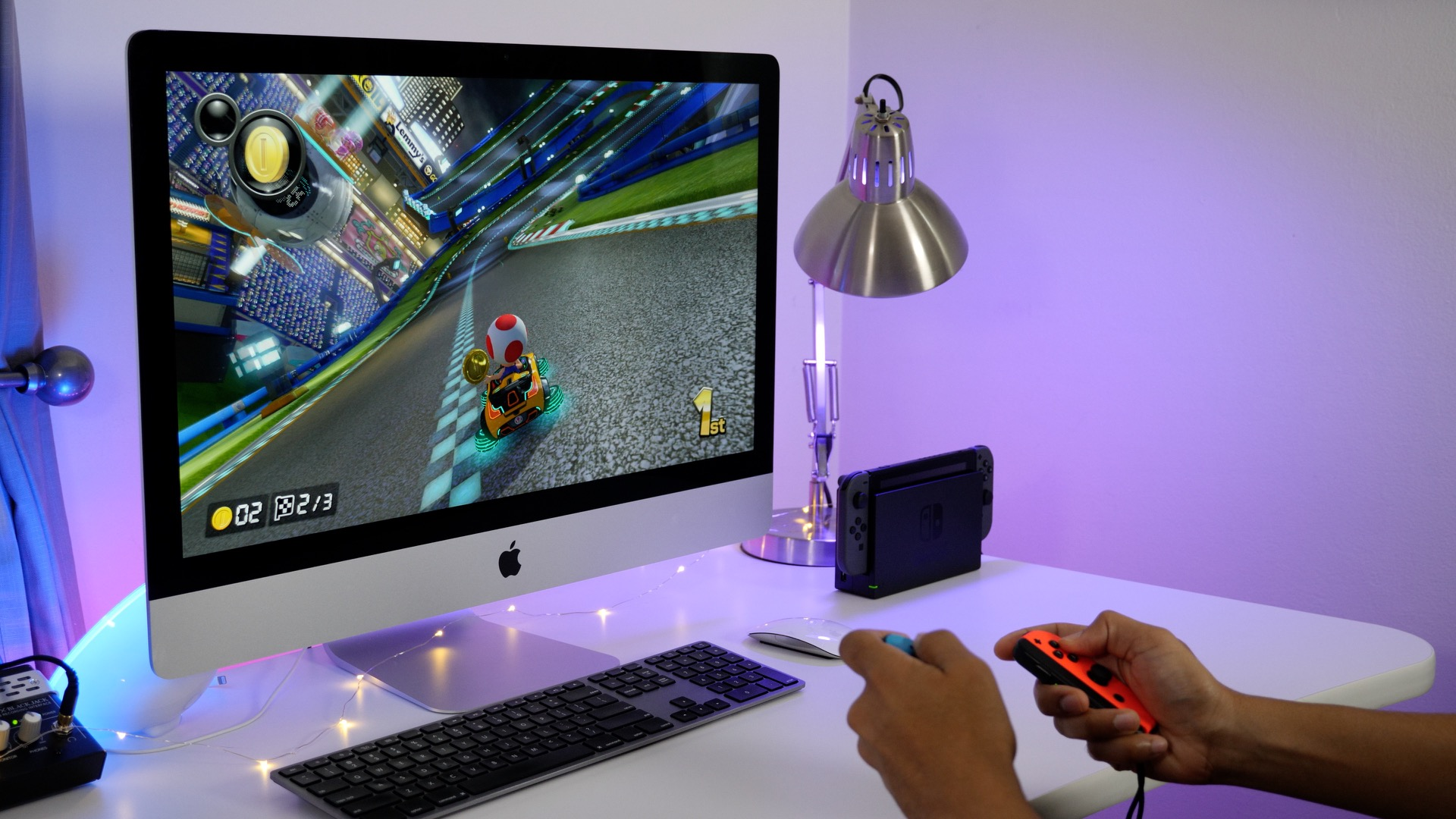 How to play Nintendo Switch and other game consoles on your iMac's