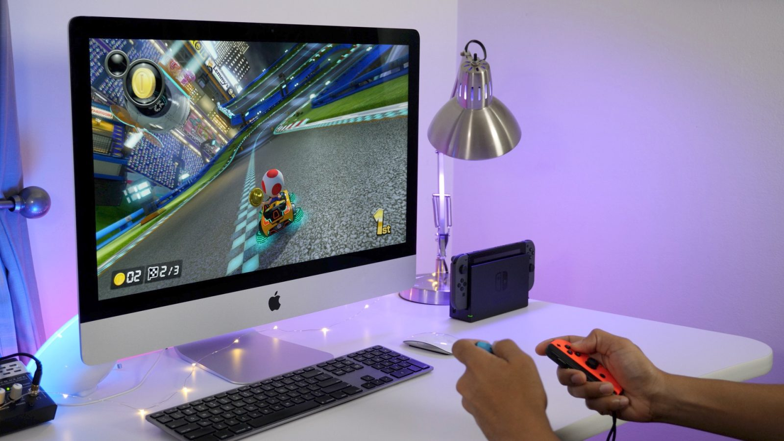 how to play nintendo switch and other game consoles on your imac s