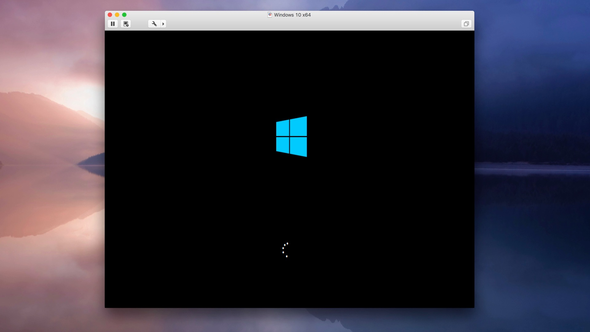 vmware mac os x on windows 10