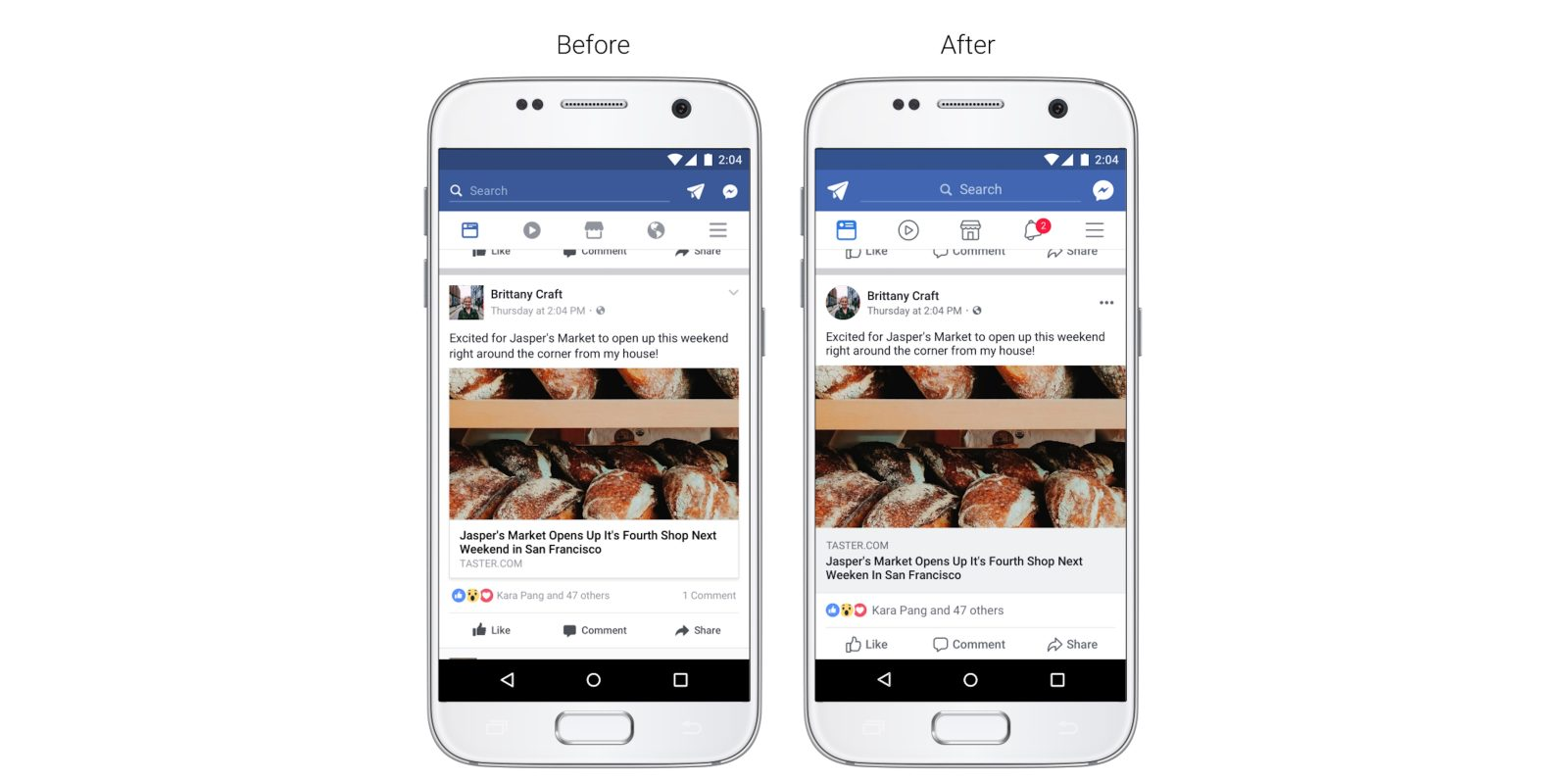 Facebook announces News Feed interface changes, new features for