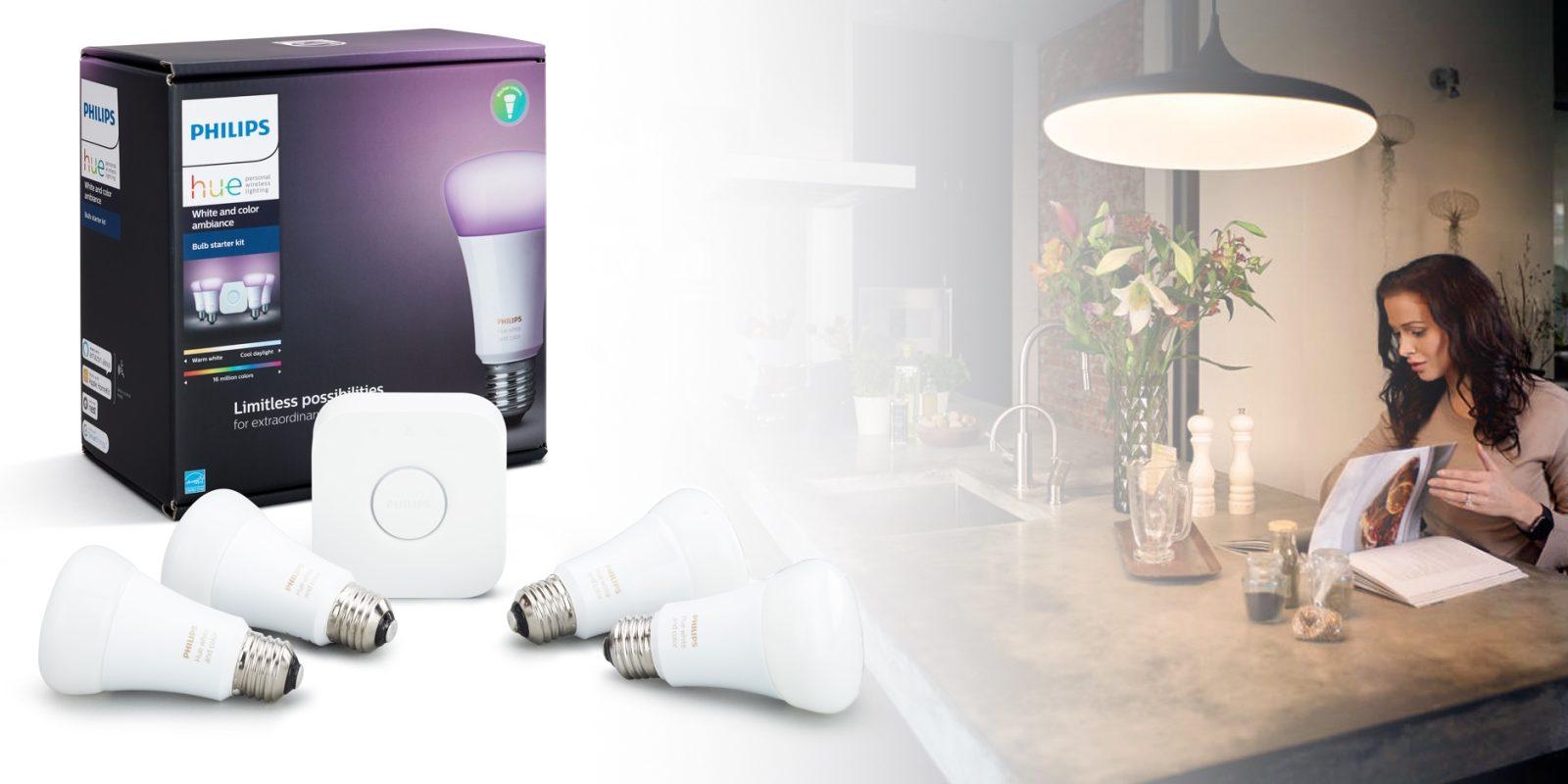 Buy the cheapest new Philips Hue smart home HomeKit starter kit from ...