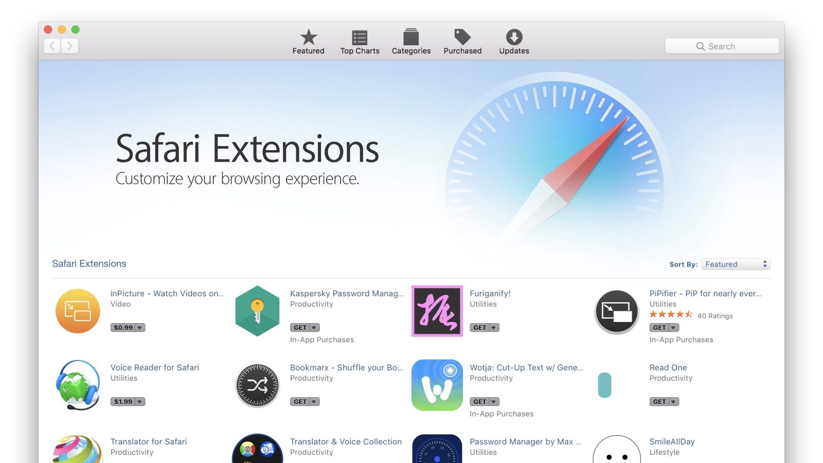 Apple updates Safari Extensions webpage with focus on Mac