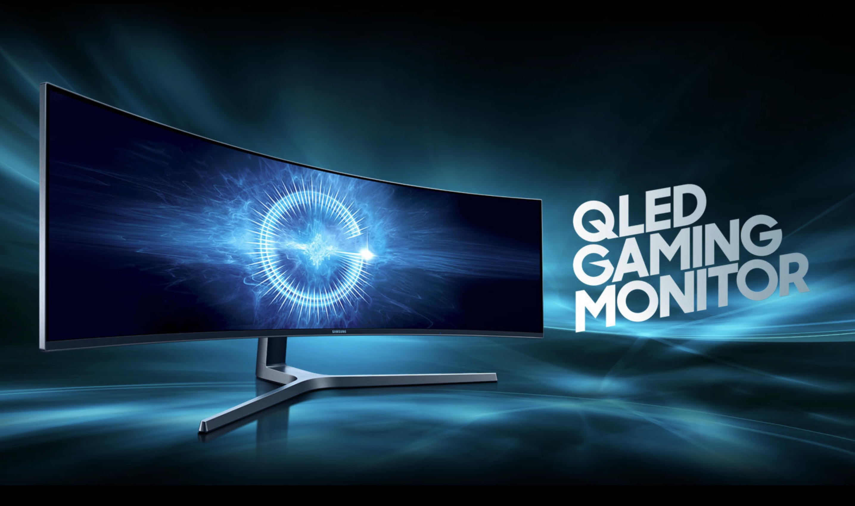 Samsung's massive 49-inch curved widescreen monitor has HDR, 144Hz refresh, more