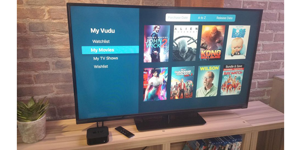 PSA: Vudu now on Apple TV, lets you watch (some of) your Blu-ray